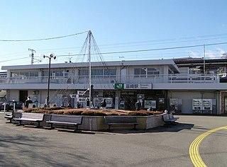 Nirasaki Station Railway station in Nirasaki, Yamanashi Prefecture, Japan
