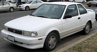 Nissan Sentra - Nissan Sentra SE-R coupe
