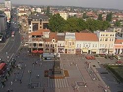 Marktplatz von Niš