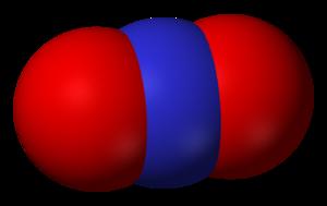 Nitronium ion - Image: Nitronium 3D vd W