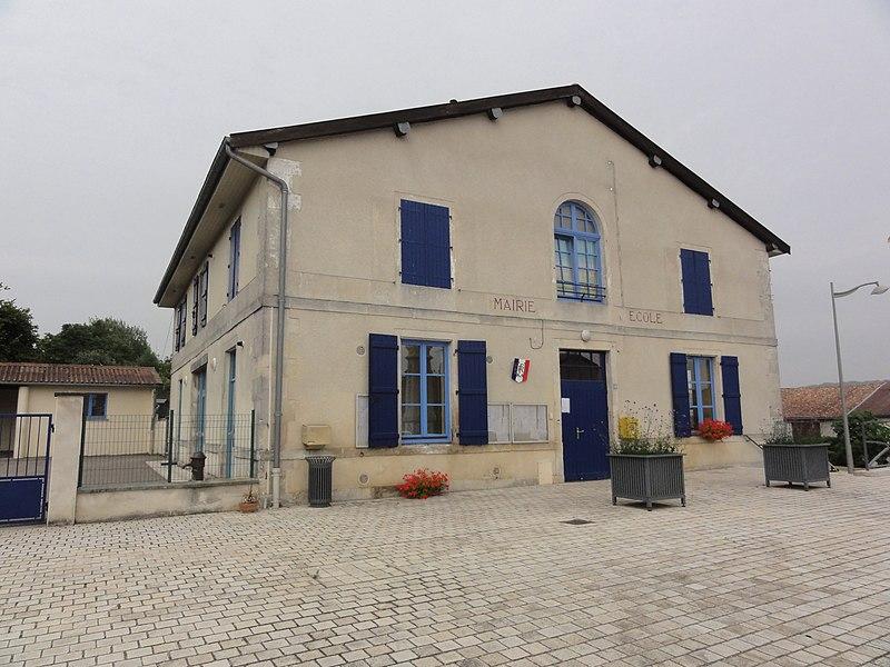 Nixéville (Nixéville-Blercourt, Meuse) mairie