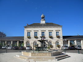 The town hall in Nogent