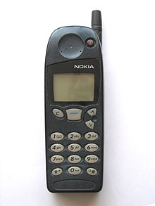 Image result for Nokia 5110 (1998)