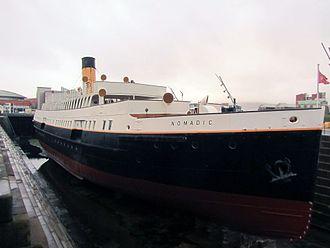 SS Nomadic (1911) -  Nomadic in dry dock in 2016