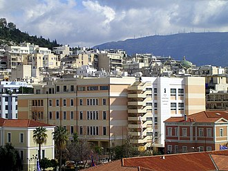 National and Kapodistrian University of Athens - The Faculty of Law. The building was initially built about 1930. A second branch was added in the 1960s. Extensive renovation began in 2002 and was completed by 2006.