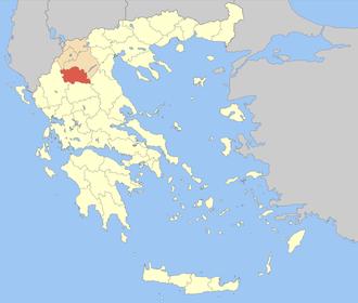 Grevena (regional unit) - Image: Nomos Grevenon