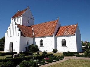 Gørlev - The church at Gørlev.