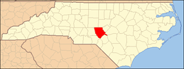 North Carolina Map Highlighting Moore County.PNG