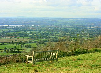 Stinchcombe - Image: North of west from Stinchcombe Hill geograph.org.uk 1027059