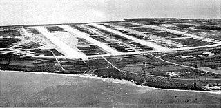 former World War II airfield on Tinian in the Mariana Islands
