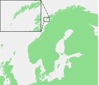Operation Claymore - Location of the Lofoten Islands