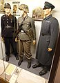 "Norway in WW2. Uniforms of Norwegian volunteers in Waffen-SS (Germanske SS Norge and ""frontkjemper""). Statspolitiet 1942-1945. Rustkammeret, Trondheim, Norway. 2019-03-20.jpg"