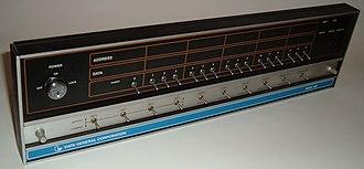 Data General Nova - Data General Nova 1200 front panel