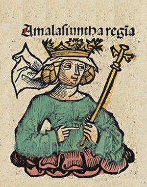 Amalasuntha - Image: Nuremberg chronicles f 143r 3