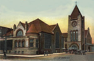 Railroads in Syracuse, New York - New York Central Railroad - Downtown Syracuse Station - 1910