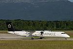 OE-LGR, Austrian Airlines, De Havilland Canada DHC-8-400 (18891724008).jpg