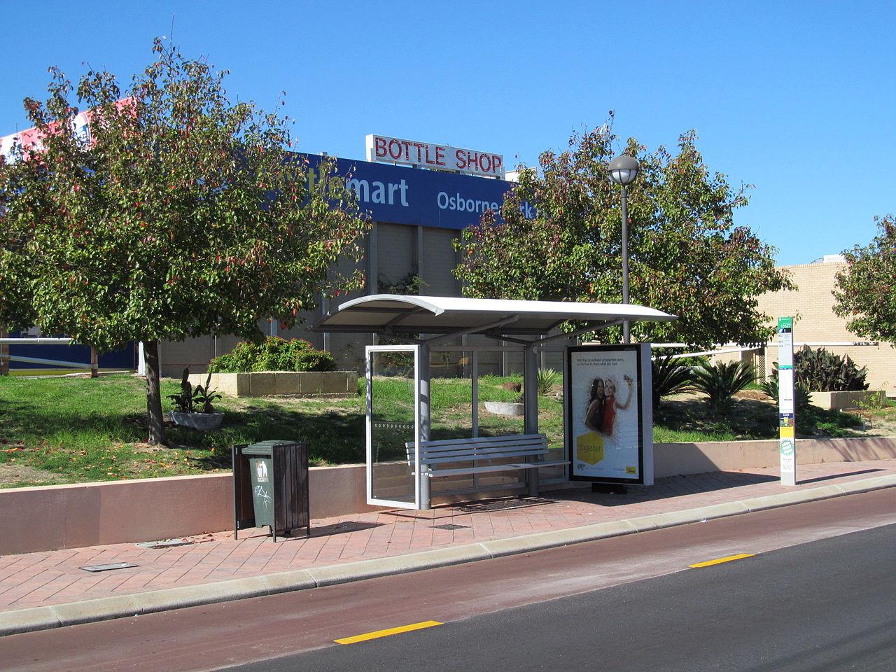 file oic osborne park tram stop wikimedia commons. Black Bedroom Furniture Sets. Home Design Ideas