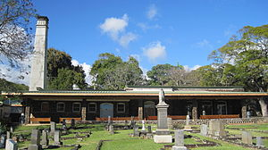 Oahu Cemetery - Crematorium built in 1906