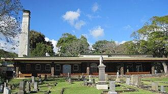 Oahu Cemetery - Crematorium built in 1906