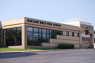 Oakland Mills High School Public high school in Columbia, Maryland, USA