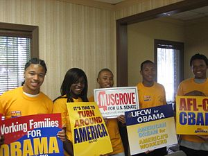 United States Senate special election in Mississippi, 2008 - Supporters of Musgrove's senate campaign