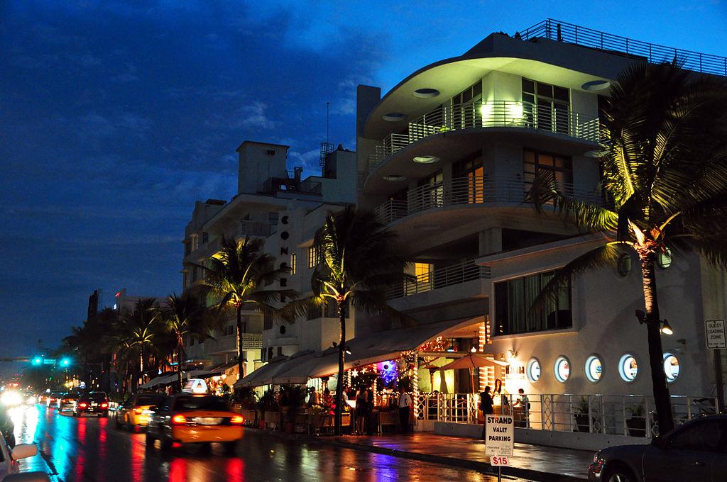 Ocean Drive - South Beach Miami, Florida