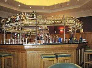 Clarence Hotel - The Octagon bar at the Clarence Hotel