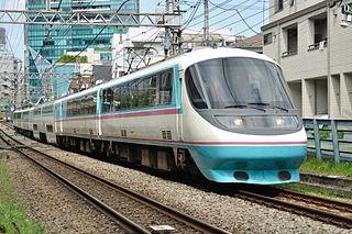 Odakyu 20000 series RSE Electric multiple unit of Odakyu Electric Railway