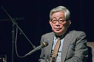 Kenzaburō Ōe - Kenzaburō Ōe at Japanisches Kulturinstitut Köln/Cologne (Germany), April 11, 2008