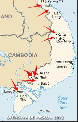 Guerra De Vietnam Mapa.Guerra De Vietnam Wikipedia La Enciclopedia Libre