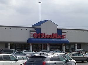 OfficeMax - The first OfficeMax store, located in Mayfield Heights, Ohio.