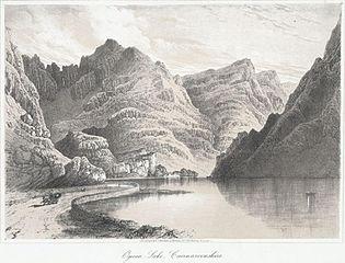 Ogwen Lake, Caernarvonshire