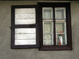 Window shutter - One side shutters in Poland