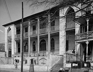 Marine Hospital Service - Marine Hospital in Charleston, South Carolina, built in 1833
