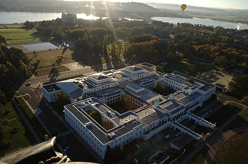 Old Parliament House from above