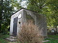 Old cemetery. Concrete vault. - Máriabesnyő, Gödöllő, Hungary.JPG