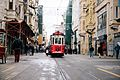 Old tram in İstiklal Avenue.jpg
