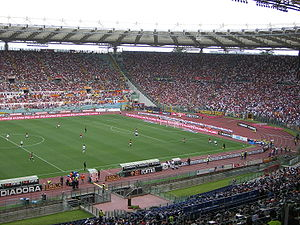 Stadio Olimpico during an AS Roma match