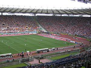 Curva - A.S. Roma Fans in Curva Sud