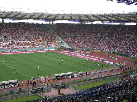 Stadio Olimpico during a Roma match OlimpicoRoma.JPG