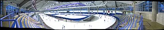 Olympic Oval - A panorama taken from the northeast corner of the facility.