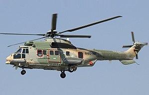 Eurocopter EC225 Super Puma - Omani EC225 in flight, 2009