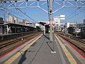 Omi-Hachiman Station Platform.JPG