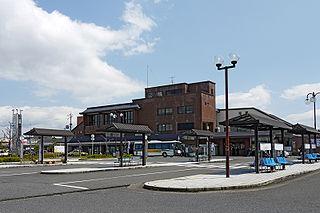 Ōmi-Hachiman Station Railway station in Ōmihachiman, Shiga Prefecture, Japan