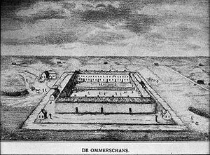 Ommerschans - The Ommerschans as a labour camp in the 1820s