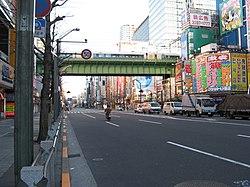 Onari-kaido overhead bridge(Soubu-line).jpg