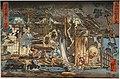 One Hundred Ghost Stories (Haunted House by Hayashiya Shozo), by Utagawa Kuniyoshi, Japan, Edo period, 1800s AD, woodblock print on paper - Tokyo National Museum - Tokyo, Japan - DSC09287.jpg