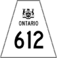 Highway 612 shield