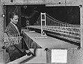 Ontvangst brug door H. Ing. Vebinding Sicilie met Italie, Bestanddeelnr 905-8245.jpg