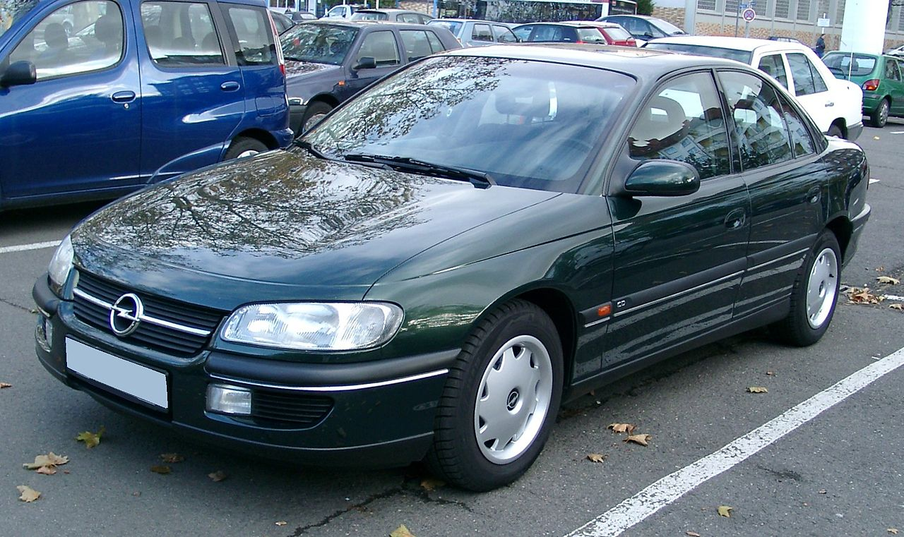 file opel omega front wikimedia commons. Black Bedroom Furniture Sets. Home Design Ideas